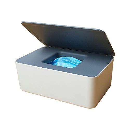 Max-Tonsen Dispensador de toallitas Antideslizantes para bebés, Caja de Almacenamiento de Tejidos, contenedor, Soporte para máscara con Tapa, 2#