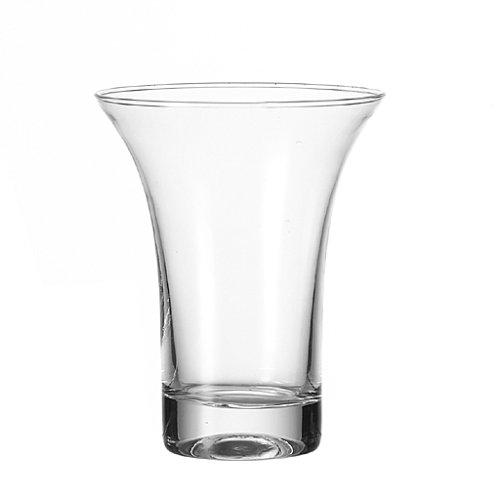 Leonardo Vase Ravenna, handgefertigte Blumen-Vase im modernen Design, dekorative Vase für Sträuße aus Glas,14,5-cm, 012115