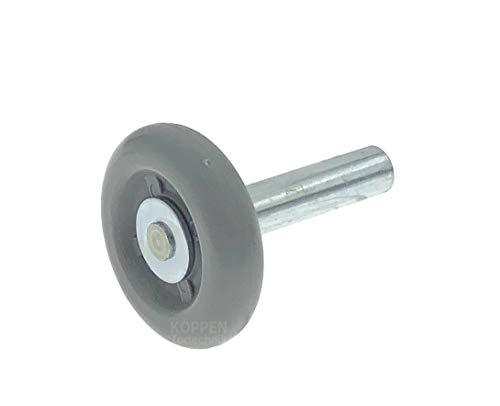 Novoferm Laufrolle mit kurzer Achse Sektionaltor Garagentor Ersatzteil 30477000 für S 40, iso 40, GST und GSZ