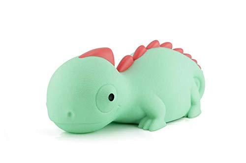 Luz nocturna camaleón para niños, LED, cambio de color con función táctil, temporizador y batería