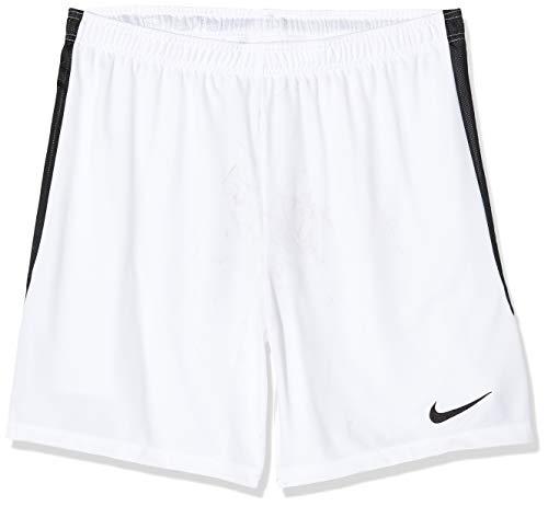 Nike, Dry Hertha II, Pantalones Cortos De Fútbol, Blanco/Negro/Negro, S, Hombre