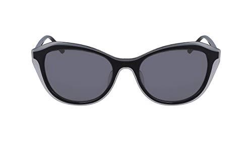 DKNY DK508S Gafas de sol, Grey/Black, 54 MM, 18 MM, 135 MM para Mujer