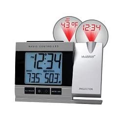 Atomic Projection Alarm with Outdoor Temperature