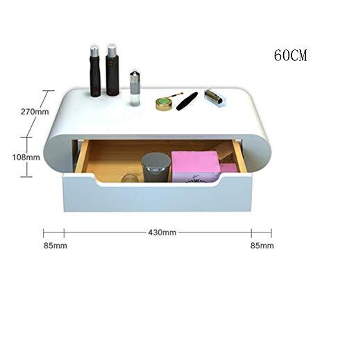 YZjk Cómo vestirse con Espejo Cómoda para Dormitorio Cómoda para Dormitorio Blanco (Color: 80cm + Un Espejo)
