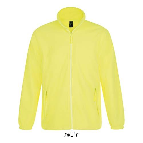 SOL´S Fleecejacket North, Größe:L, Farbe:Neon Yellow