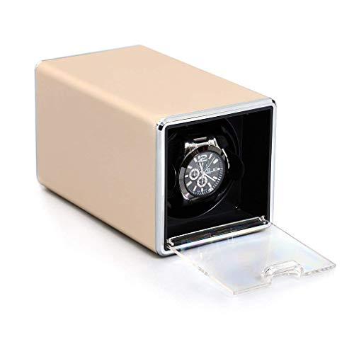 Reloj Dispositivo de Mesa batidora Winder Metal Shell Shaker Reloj mecánico Caja de bobinado automático Mesa Swayer acorde Mesa giratoria Adecuado para Relojes de Alta Gama