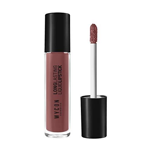 WYCON cosmetics Liquid Lipstick, N.05 Pinkish Beige - Confezione da 6