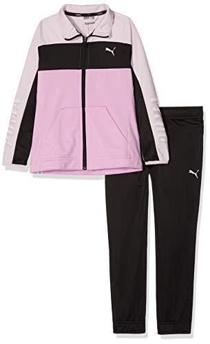 PUMA Poly Graphic Suit G Tuta da Allenamento, Nero, 176 Bambina