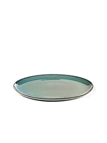 Serax - Teller - Steinzeug - Designed by Anita Le Grelle - Smokey Blue M Ø 22cm