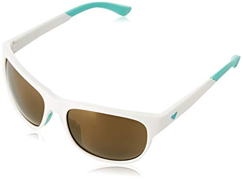 Roxy Damen Eris-Sonnenbrille für Frauen, White/White/Yellow-Combo, 1SZ