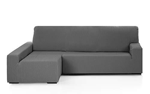 Martina Home Funda para sofa Chaise Longue modelo Emilia - Brazo izquierdo, color Gris