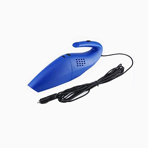Z&LEI Aspirador de Mano, Limpiador de Polvo alámbrico alámbrico al Aire Libre Limpiador de Alta Potencia para automóviles Auto Car 12V,Azul
