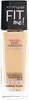 Maybelline Fit Me Dewy Plus Smooth Foundation 115 Ivory 30ml