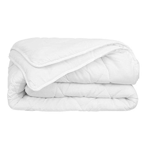 XINGLIEU - Edredón nórdico para 4 Estaciones, 200 x 200 cm, Color Blanco Diseño cómodo y Elegante.