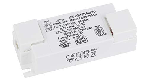 LED Trafo 20W 700mA Konstantstrom Flackerfrei LS-20-700 LI1 LED Netzteil Driver Treiber Transformator Flickerfree
