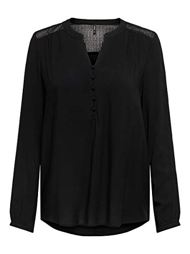 ONLY Damen Hemd Lockeres XLBlack