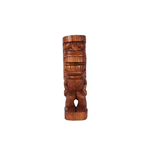 KOH DECO Tiki polynésien KAMALO en Bois 50 cm