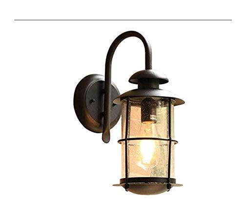 BOSSLV Lampes de Lavage Murales Lampes Lumières Projecteurs Éclairage Rétro Lichtoutdoor Extérieur Étanche Cour Porte Lumière Jardin