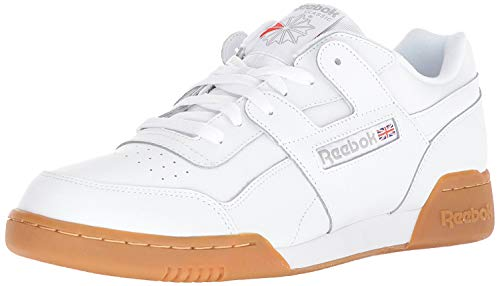 Reebok Workout Plus, Cross Trainer, White Carbon Classic Red, 35 1/3 EU