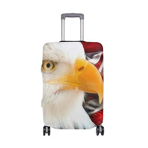MONTOJ American Bald Eagle - Funda para maleta, diseño de águila calva