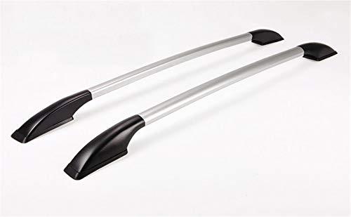 JPVGIA Rieles de Techo Portaequipajes de Techo de Las Barras for la Nissan NV200, aleación de Aluminio, Hacen su Coche más Hermoso, Agradable Partido (Color : Silver)