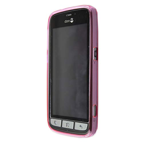 caseroxx TPU-Hülle für Doro 8030/8031, Tasche (TPU-Hülle in pink)