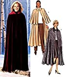 BUTTERICK 4030 CAPE PATTERN HOODED CAPE VAMPIRE SIZE LARGE X-LARGE SHERLOCK HOLMES STYLE