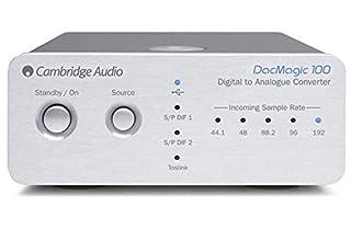 Riceve il suono da device come iPod, TV ed aggiunge dettagli, profondità e purezza al suono Dimensioni: 10.6 x 13 x 4.6 cm Installa il convertitore Wolfson 24-bit DAC Convertitore digitale analogico 24/192