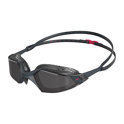 Speedo Aquapulse Pro Adulto Unisex, Oxid Grey/Phoenix Red/Fumo