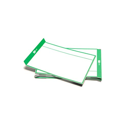 PATboard Scrum Board and Kanban Board - Magnetic Task Cards - L (Large) - Set of 8 - Green