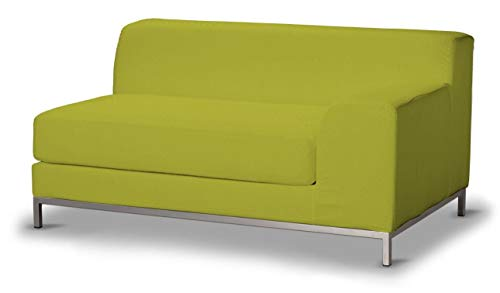 Dekoria Kramfors 2-Sitzer Sofabezug, Lehne rechts Sofahusse passend für IKEA Modell Kramfors Limone
