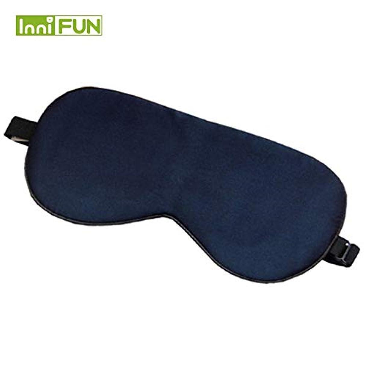 同時ペデスタルなめるNOTE 11色高級シルクポータブル旅行睡眠アイマスク休息補助ソフトカバーアイパッチアイシェード睡眠マスクケースMR078