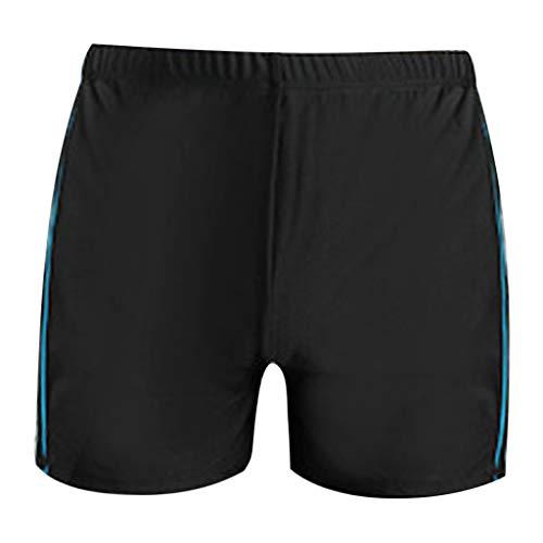 Yowablo Short Hommes Fitness Nouveau Mode Slim Fit surdimensionné Trendy Short de Bain Boxer à séchage Rapide (5XL,3 Bleu Clair)