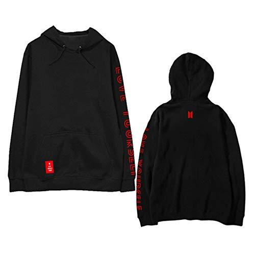 Kpop Love Yourself Answer Hoodie Jimin Suga Jung Kook V World Tour Pullover Sweatshirt