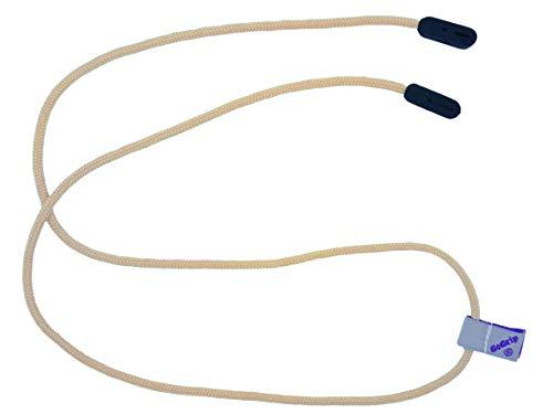 Original GoGrip Brillenkordel, zur Sicherung von Brillen Gr. Medium, knochenfarben