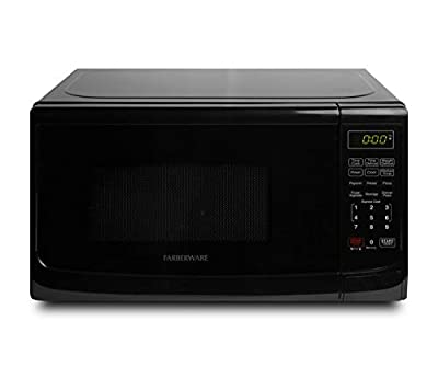 Farberware Classic FMO07ABTBKA 0.7 Cu. Ft. 700-Watt Microwave Oven with LED Lighting, Black