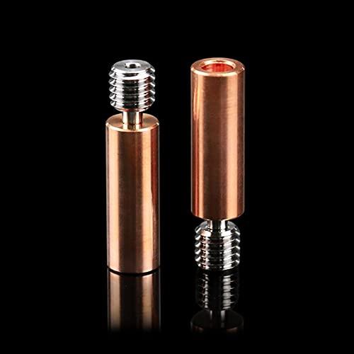 Xiaomindiano Alimentador de titanio de aleación de bi- metal para ENDER CR10 5/ 3 CR- 10S 1. 75MM Rotura de calor suave de filamento Partes de la impresora ( Color : 1pcs , Size : CR10 Bi-Metal )