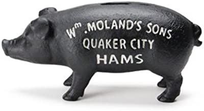 Hams Standing Pig Bank ハムズ スタンディング ピッグ バンク【ブラック】