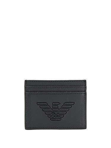 Emporio Armani Luxury Fashion Hombre Y4R125YFE6J81072 Negro Tarjetero | Otoño-Invierno 19