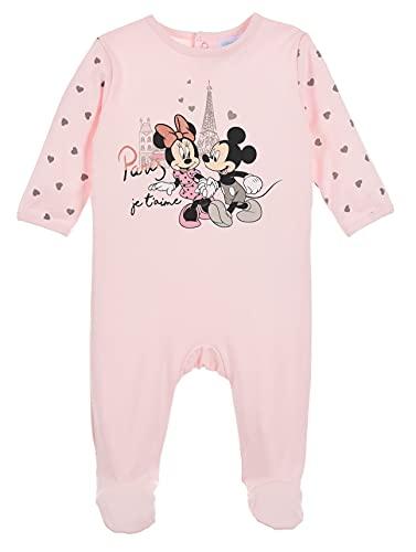 Minnie Mouse bebé-niñas Pijama Largo (Rosa Claro,24 Meses)