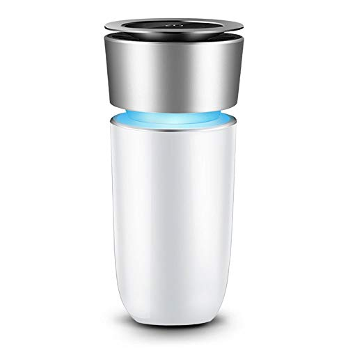 Great Deal! Idebris Colorful Cup Car Air Purifier Portable Ion Generator Air Freshener HEPA Filter w...