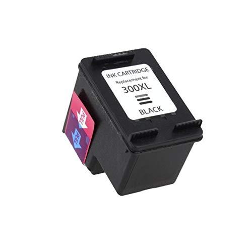 SXCD Cartuchos de Tinta 300XL, Cartucho de reemplazo de Alto Rendimiento para HP DeskJet D1600 D1660 D1663 D2500 Impresora de inyección de Tinta Cartuchos de Tinta Tri-Co Black