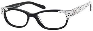 Kate Spade Alease Eyeglasses-0X55 Black White-49mm