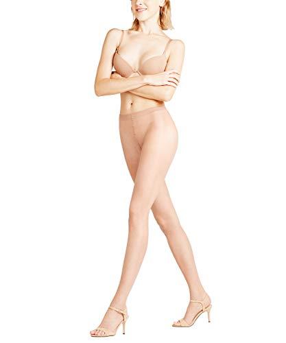 FALKE Damen Strumpfhosen Shelina 12 Denier Toeless - Ultra-Transparente, 1 Stück, Beige (Golden 4699), Größe: S