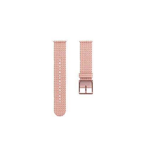 Polar Unisex– Erwachsene Textil 20mm Armband fur Fitnessuhr, Rosa, S/M