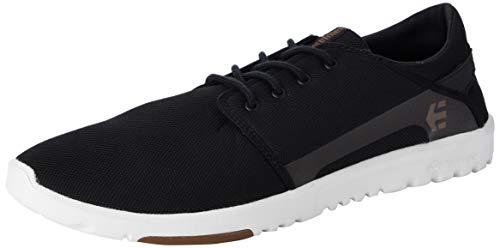 Etnies Herren Scout Sneaker, Schwarz (979/BLACK/WHITE/GUM), 45 EU(10 UK)