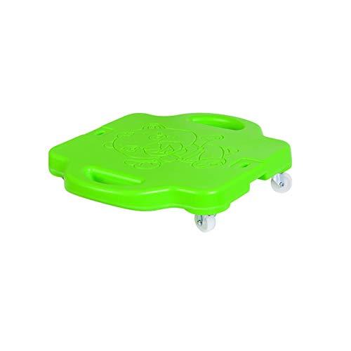 Patinete deportivo de plástico con asas de seguridad para gimnasio, clase, parque de juegos o uso doméstico