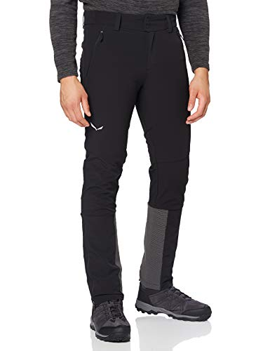 Salewa Sesvenna Skitour Pantalone da Escursione, Uomo, Black Out, XL