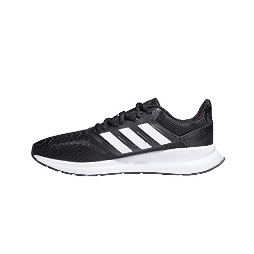 Adidas Falcon, Zapatillas de Trail Running Hombre, Negro/Blanco (Core Black/Cloud White F36199), 43 1/3 EU