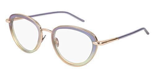 Pomellato - Montura de gafas - para mujer Azzurro/Verde/Oro Medium